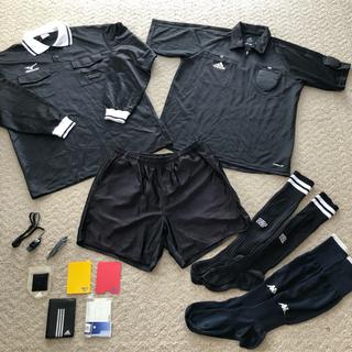 アディダス(adidas)のサッカー審判服 グッズ一式 11点 Lサイズ まとめ売り 少年サッカー 保護者(サッカー)