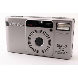 PENTAX - 【美品】ペンタックス PENTAX espio80 コンパクトフィルムカメラ