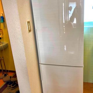 SHARP - SHARP 冷蔵庫 SJ-PD27D-W プラズマクラスター7500搭載