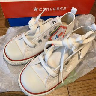 CONVERSE - コンバース スニーカー 19cm ホワイト