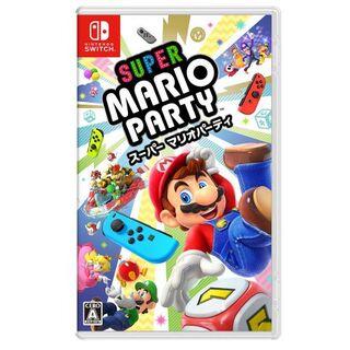 Nintendo Switch - 新品未開封スーパー マリオパーティ パッケージ版