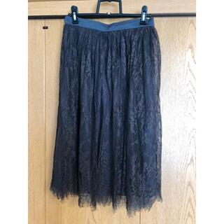 スタディオクリップ(STUDIO CLIP)のstudio CLIP レーススカート(ひざ丈スカート)
