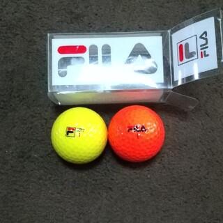 フィラ(FILA)のFILA ゴルフボール2個(その他)