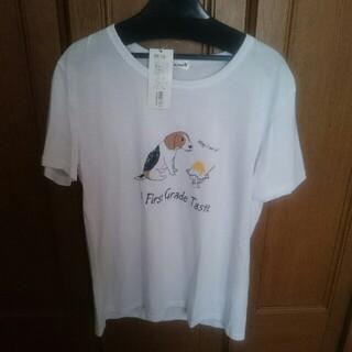 犬とかき氷🍧半袖TシャツM(Tシャツ(半袖/袖なし))