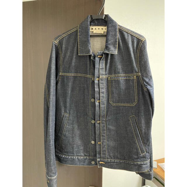Marni(マルニ)のMARNI   メンズ デニムジャケット メンズのジャケット/アウター(Gジャン/デニムジャケット)の商品写真