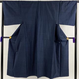 男着物 美品 優品 140.5cm 65cm 正絹 【中古】(着物)