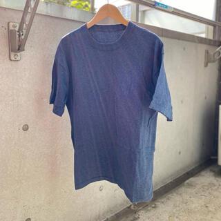 ワンエルディーケーセレクト(1LDK SELECT)のcrepuscule ニット 半袖 1 クレプスキュール 紺 navy(Tシャツ/カットソー(半袖/袖なし))