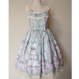 Angelic Pretty - Antoinette Decoration  JSK KC ミント
