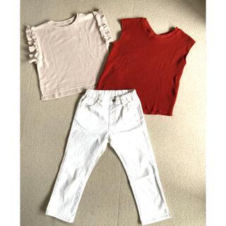 チャオパニックティピー(CIAOPANIC TYPY)のciaopanictypy & branshes 3点セット 130(Tシャツ/カットソー)