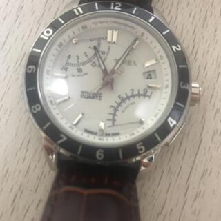 タイメックス(TIMEX)の中古品 TIMEX 腕時計メンズ フライバック クロノグラフ(腕時計(デジタル))