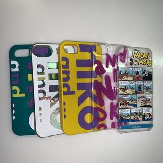 ニコアンド(niko and...)のニコアンド スマホケース 5個セット iPhone7 iPhone8(iPhoneケース)