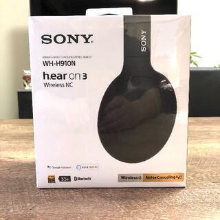 SONY - ソニーヘッドホン WH-H910N 黒 新品保証有