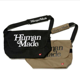 "HUMAN MADE VERDY Messenger bag ""Black"""