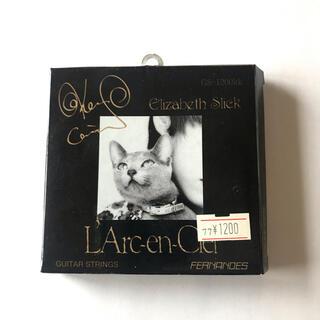 ラルクアンシエル(L'Arc~en~Ciel)のL'Arc-en-Ciel ken ギター弦(ミュージシャン)