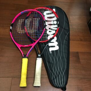 ウィルソン(wilson)の子ども用テニスラケット2本(ラケット)