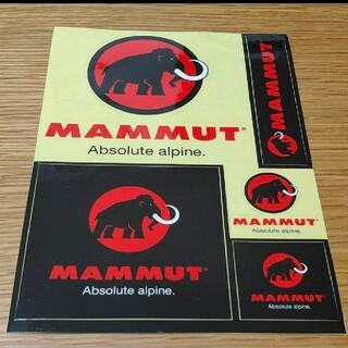 マムート(Mammut)の新品非売品限定MAMMUTマムートステッカーシート(登山用品)