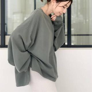 L'Appartement DEUXIEME CLASSE - レミレリーフ アパルトモン サイドスリットTシャツ
