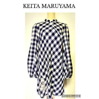 KEITA MARUYAMA TOKYO PARIS - 【KEITA MARUYAMA】チャイナドレス風チュニックワンピース