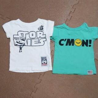 エフオーキッズ(F.O.KIDS)のSTORIES グラグラ エフオーキッズ 80cm 夏 Tシャツ 二枚(Tシャツ)