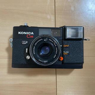 コニカミノルタ(KONICA MINOLTA)のKonica c35 ef ジャンク(フィルムカメラ)
