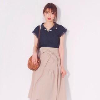 ウィルセレクション(WILLSELECTION)のウィルセレクション ユニオンテックアシメスカート Mサイズ(ひざ丈スカート)