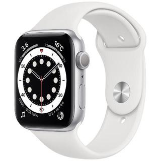 Apple Watch - アップルウォッチ6  44mm Silver White sports band