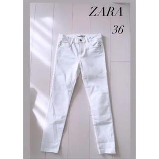 ZARA - ZARA   ホワイトデニム スキニー  ✨美品✨