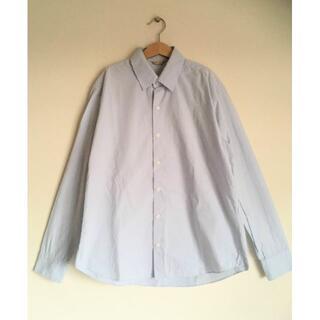 ヤエカ(YAECA)のアーツ&サイエンスサックスブルー綿シャツ1/EDIFICE/ソニアパーク(シャツ)