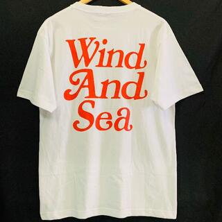 GDC - Girls Don't Cry ×Wind And Sea Tシャツ 白赤 XL