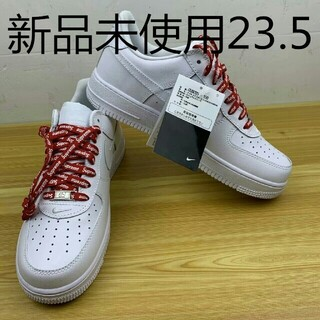 Supreme - 23.5cmシュプリーム × ナイキ エアフォース1 ロウ 白