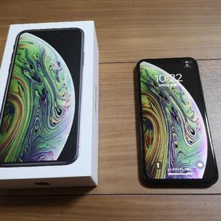 iPhone - 【訳あり処分】iPhone XS スペースグレイ 64GB