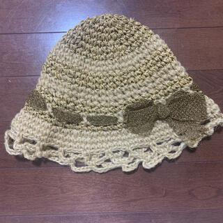 カシラ(CA4LA)のCA4lA 帽子 麦わら 麦わら帽子 (麦わら帽子/ストローハット)