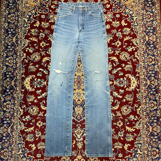 JOHN LAWRENCE SULLIVAN - USA VINTAGE EX-long boots cut jeans