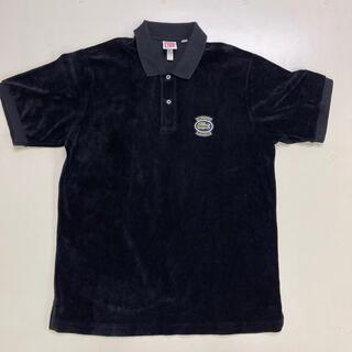 Supreme - Supreme lacoste ベロアポロシャツ 黒 M