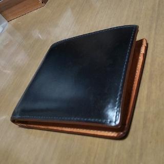 GANZO - 二つ折り財布 GANZO ガンゾ コードバン