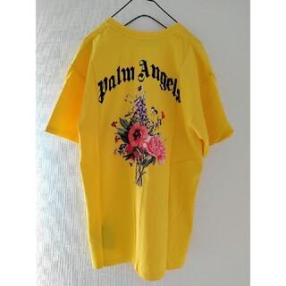 パーム(PALM)の未使用 Palm Angels ビッグ ロゴ プリント オーバーサイズ Tシャツ(Tシャツ/カットソー(半袖/袖なし))