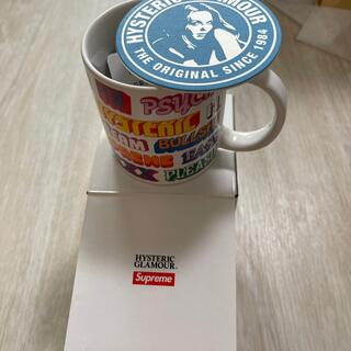 ヒステリックグラマー(HYSTERIC GLAMOUR)のヒステリックグラマー+supreme マグカップ(その他)
