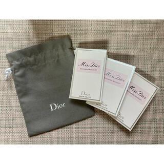 Dior - 【りさ様ご確認用】ミスディオール ブルーミングブーケ の 3本& 巾着