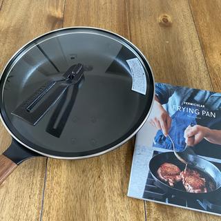 バーミキュラ(Vermicular)のバーミキュラ フライパン26cm (蓋•レシピ本付)(鍋/フライパン)
