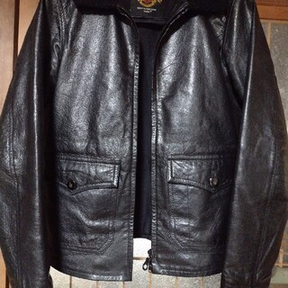 ドゥニーム(DENIME)のDenimの革ジャン サイズ40(レザージャケット)