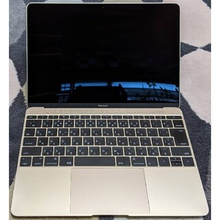 Mac (Apple) - MacBook 12inch Early 2015 ゴールド 8GB 256GB