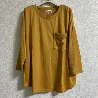 チチカカ(titicaca)のチチカカ ロンT 長袖Tシャツ カットソー 長T マスタード 新品(Tシャツ/カットソー(七分/長袖))