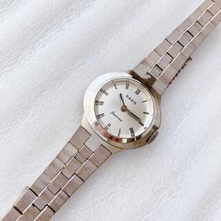 ラドー(RADO)のラドー RADO レディース手巻き腕時計 ビンテージ 稼動品 2針(腕時計)