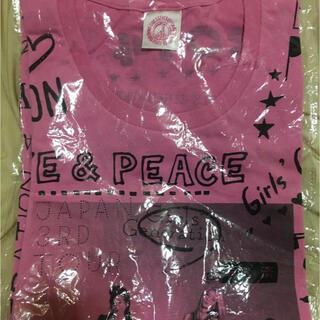 ショウジョジダイ(少女時代)の少女時代 3rdツアー LOVE&PEACE ライブグッズ Tシャツ(アイドルグッズ)
