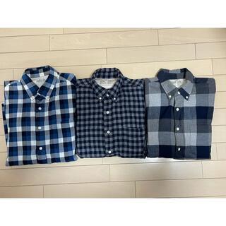 ムジルシリョウヒン(MUJI (無印良品))の無印良品 MUJI ボタンダウンシャツ3枚セット(シャツ)