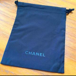 シャネル(CHANEL)のCHANEL シャネル 巾着 黒(その他)