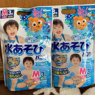 ニシマツヤ(西松屋)のムーニー moony 水浴びパンツ おむつ プール(その他)