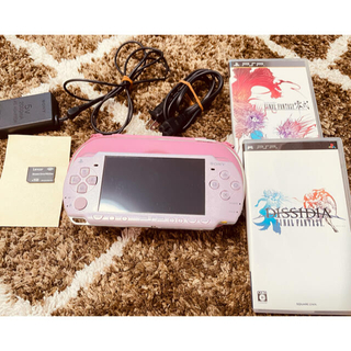 PSP 2000 本体 付属品(バッテリー無し)ソフト付き