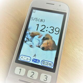 エヌティティドコモ(NTTdocomo)の📱FOMAらくらくホン ベーシック3(F-08C)(携帯電話本体)