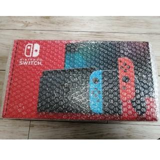 Nintendo Switch - 【新品未使用】Nintendo switch 本体 ネオンブルーレッド